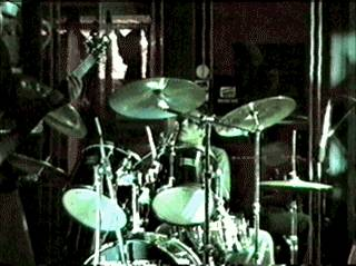 Alejo on drums